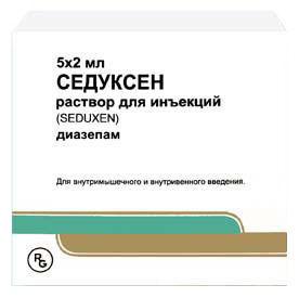 Седуксен (SEDUXEN): описание, рецепт, инструкция