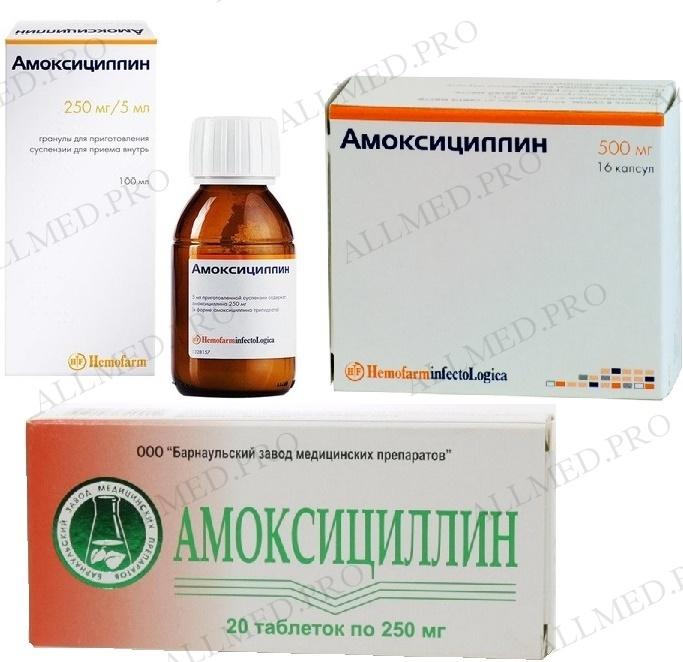 Амоксициллин Клавулановая кислота (Amoxicillin Clavulanic acid)